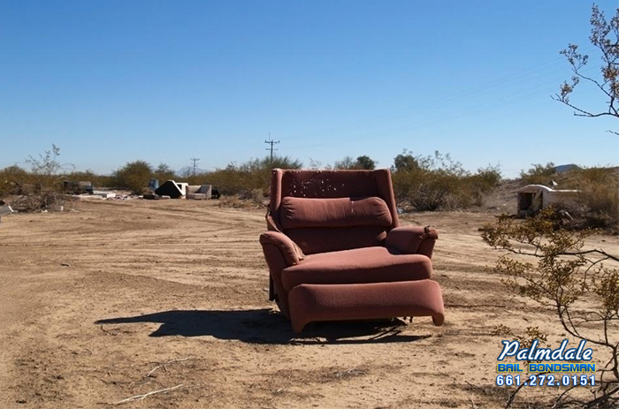 illegal dumping palmdale bail bonds