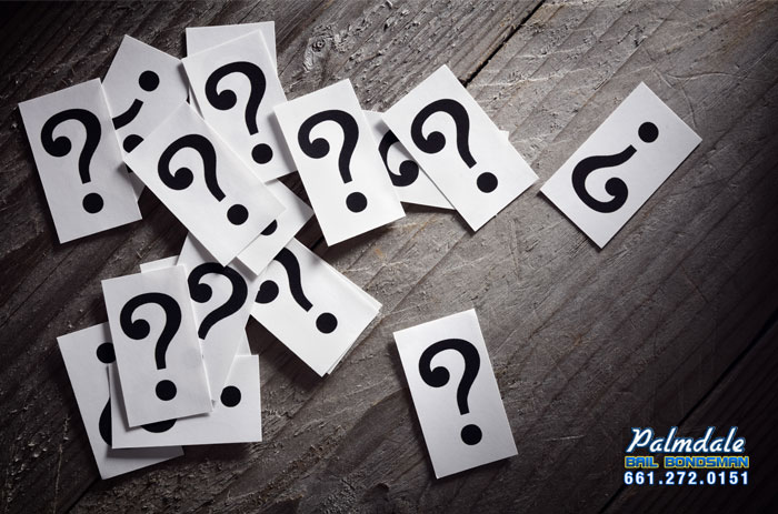palmdale frequently asked questions about bail bonds